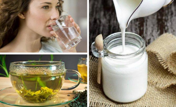 Питье при гречневой диете